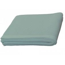 Plaid en tricot  Aqua