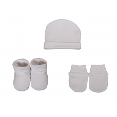 Set chausson moufle bonnet