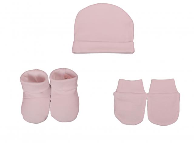 Set chausson moufle bonnet