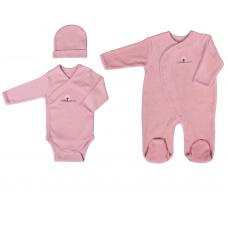 Set pyjama body bonnet 3m